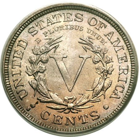 1912-S Liberty Nickel Value