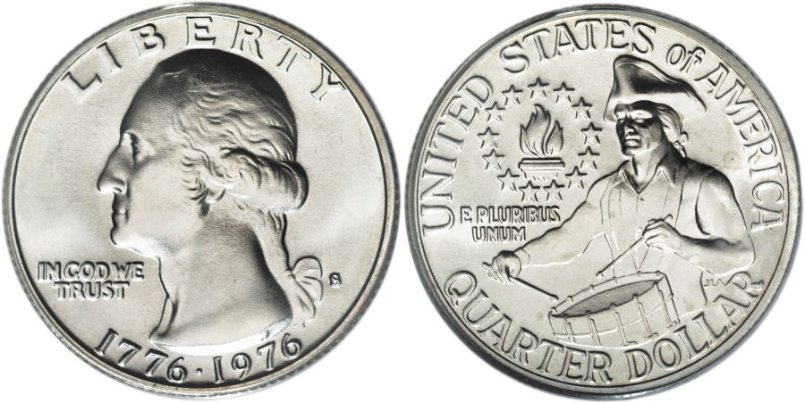 Washington Quarter value dual date