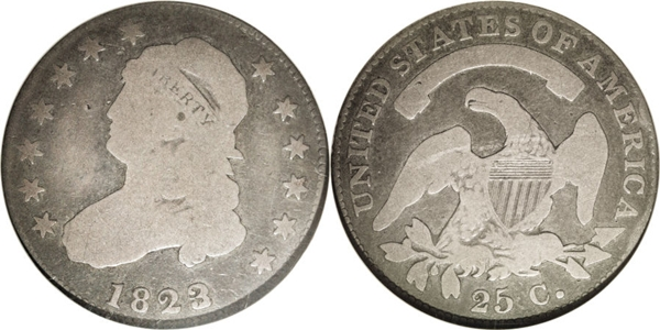 Capped Bust Quarter Value G4