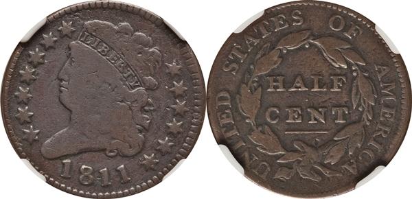 G4 Classic Head Half Cent Value