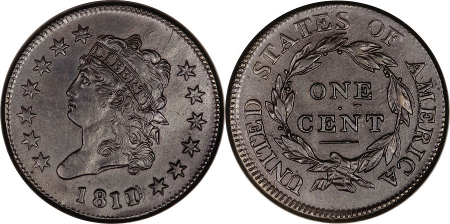 Classic Head Large Cent Value