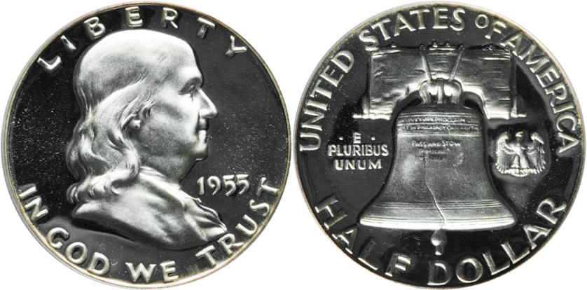 Franklin Half Dollar value DCAM Proof