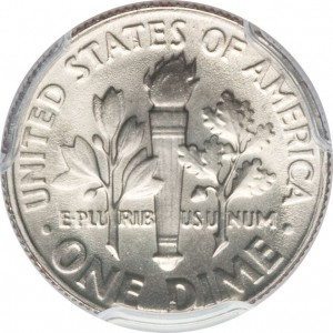 Roosevelt Dime value with full bands