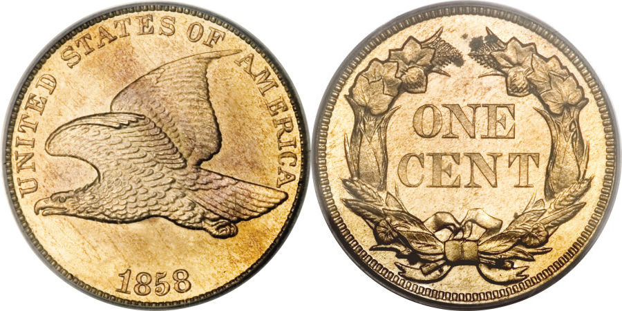1858 Flying Eagle