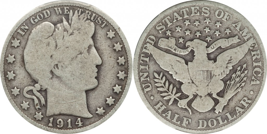 Barber Half Dollar value G4