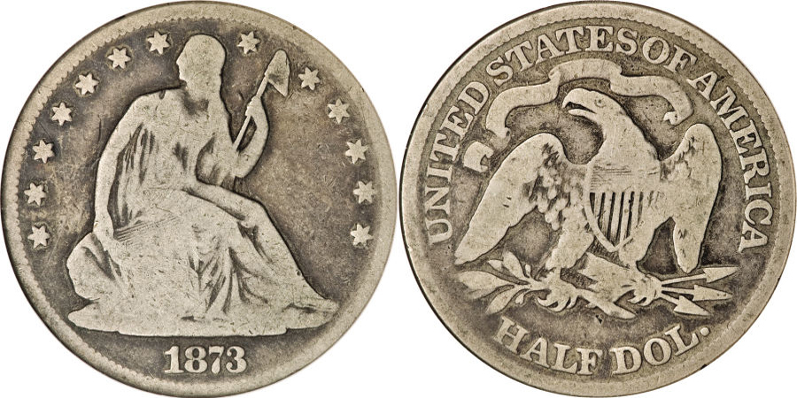Seated Half Dollar value G4