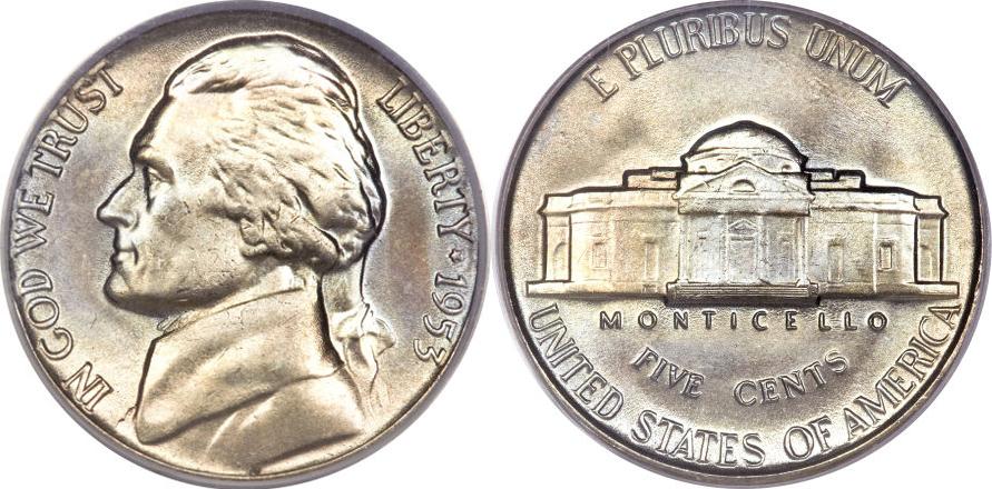 Jefferson Nickel Value