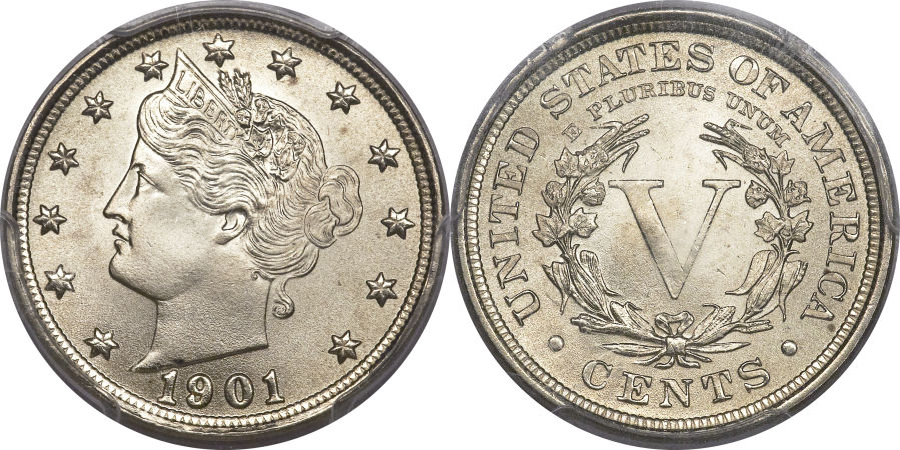 Liberty V Nickel value