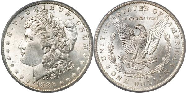 MS63 Morgan Dollar