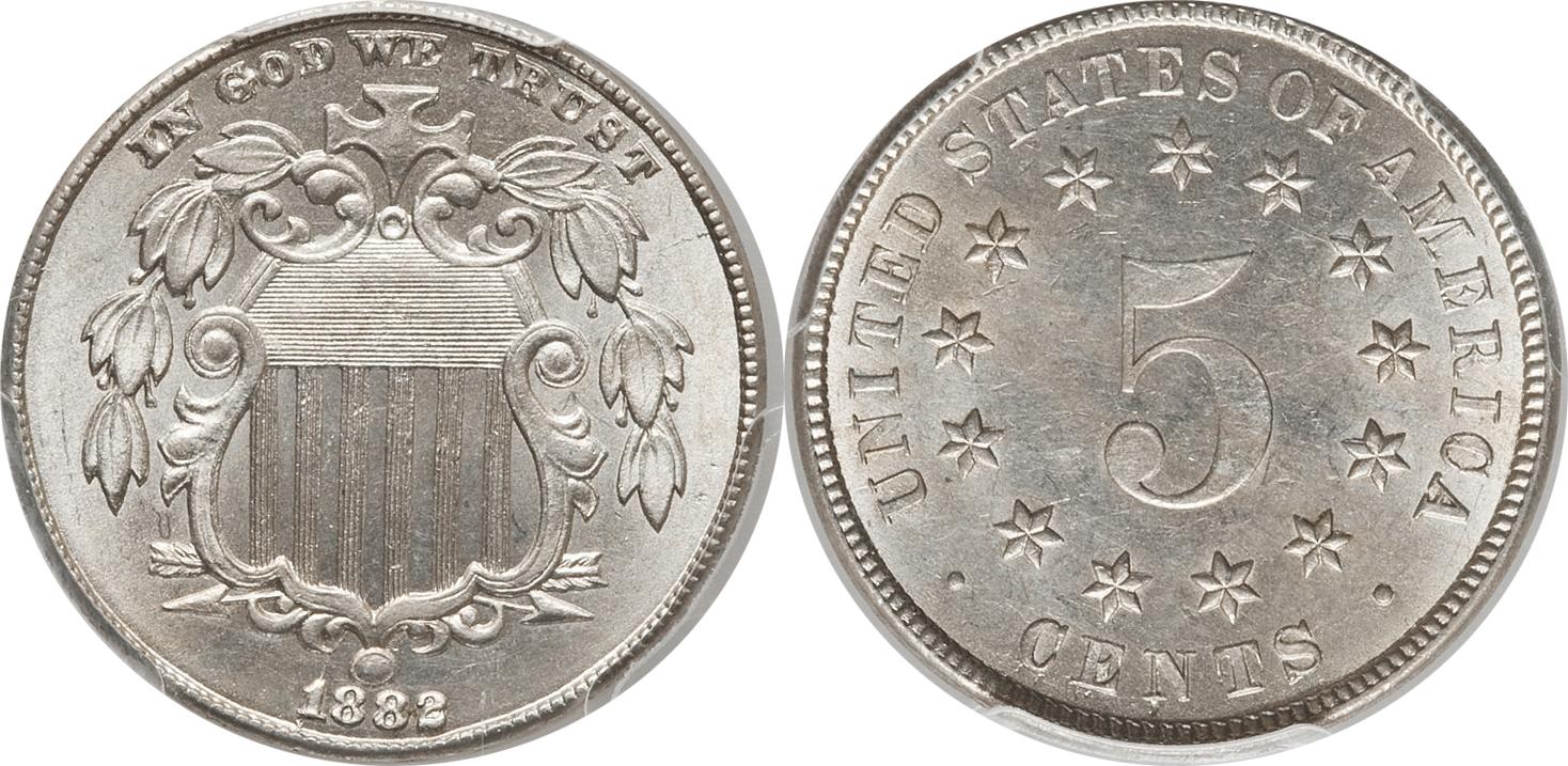 Shield Nickel Value 1866-1883