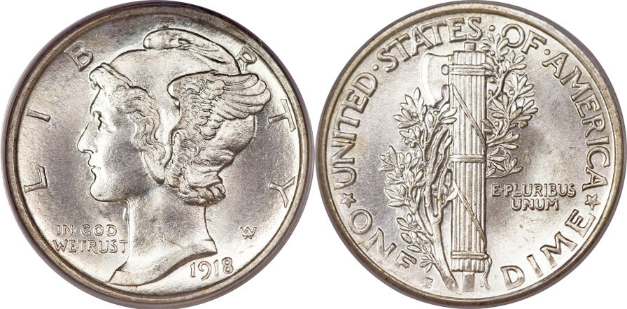 Mercury Dime value