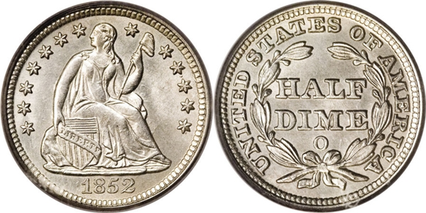 Seated Half Dime Value