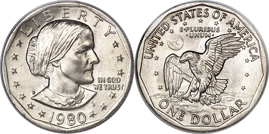 Susan B Anthony Dollar Value Coin Help