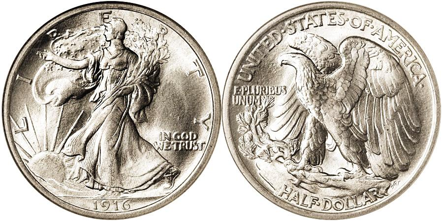 Walking Liberty Half Dollar Value