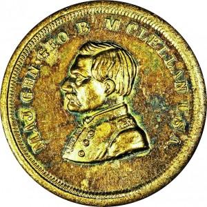 George McClellan Bust