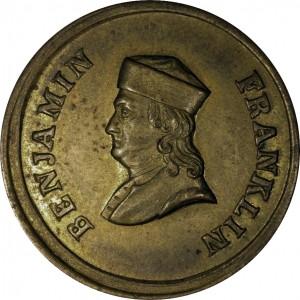 Benjamin Franklin Bust