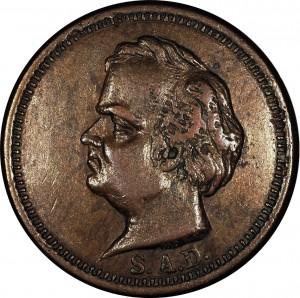 Stephen Douglas Bust