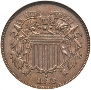 Two Cent PhotoGrade MS62 Brown