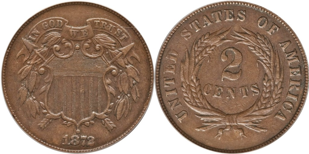 EF45 PhotoGrade Two Cent Shield