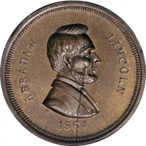 Abraham Lincoln Patriotic Civil War Token