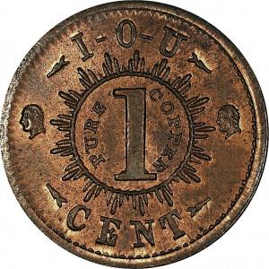 IOU One Cent