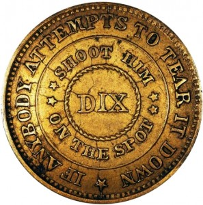 DIX Design Patriotic Civil War Tokens