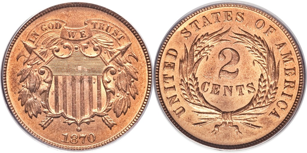 Two Cent PhotoGrade MS64 RD